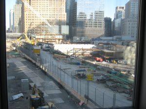 Blick auf Ground Zero