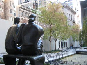 Im Skulpturengarten des Moma