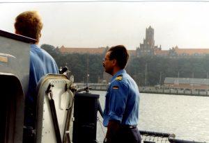 """Schnellboot """"Hyäne"""": Korvettenkapitän  Andreas Vollmers"""