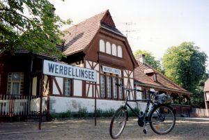 Brandenburg: Bahnhof Werbellinsee