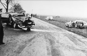 1969: Schwerer Autounfall bei Gießen