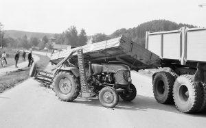 Traktorunfall bei Augsburg