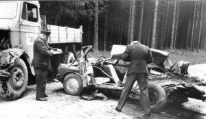 1966: Autounfall bei Augsburg