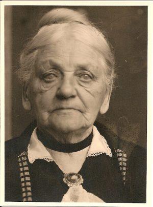 Porträt der Großmutter
