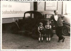 Stolzer Automobilist
