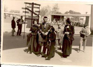 Auf der Expo 1958 in Brüssel
