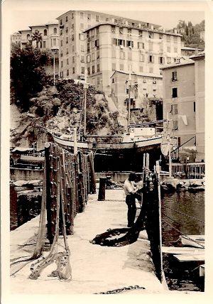 Italienischer Fischereihafen