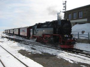 Bahnstation auf dem Brocken