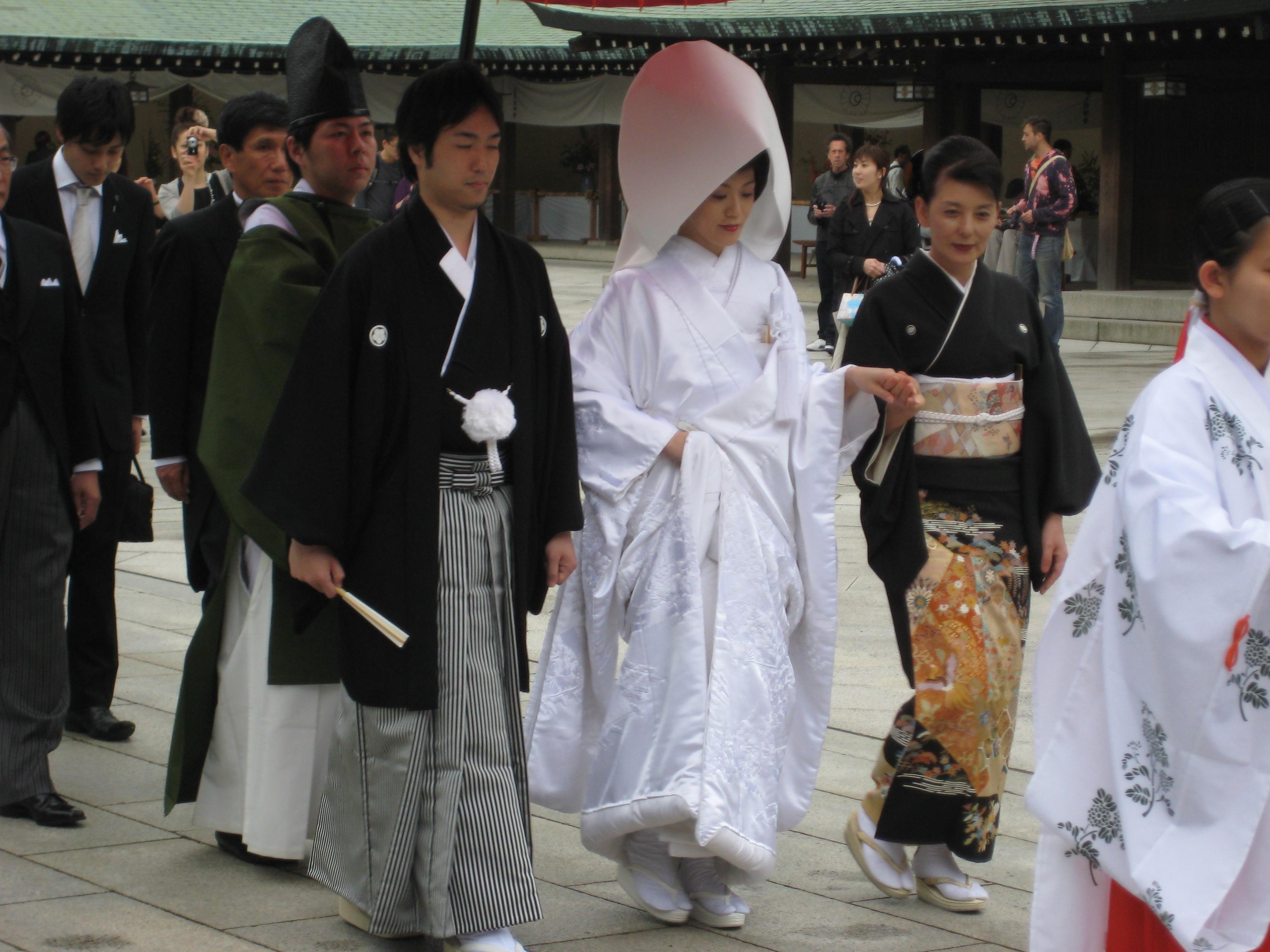 2009 japanisches hochzeitspaar fotos auf for Japanisches haus name