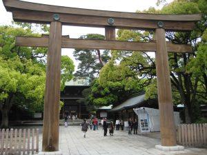Tor zum Meiji-Schrein (Tokio)