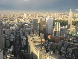 Blick über Tokio (Shinjuku)