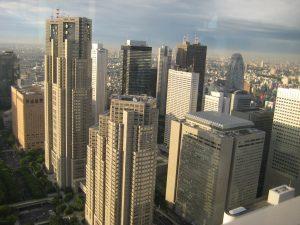 Tokioter Hochhausbezirk Shinjuku