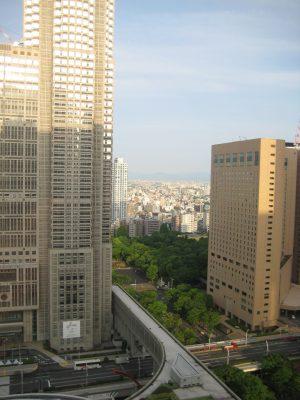Am Rathaus von Tokio
