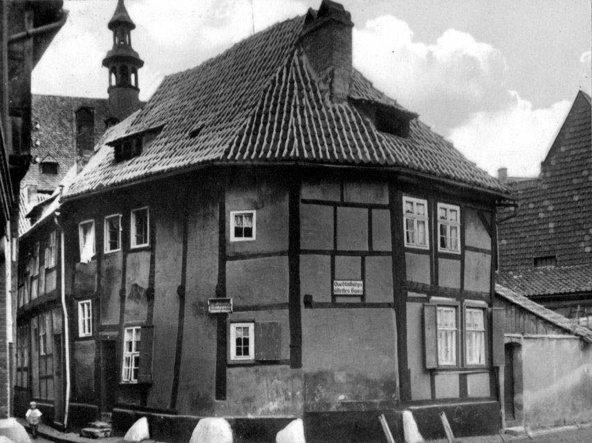 1930 Rundes Haus In Quedlinburg Fotos Auf Chroniknet Com