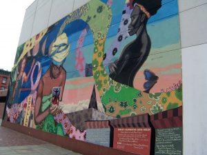 Hausmalerei in Harlem