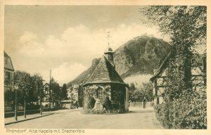 Alte Kapelle mit Drachenfels, Rhöndorf