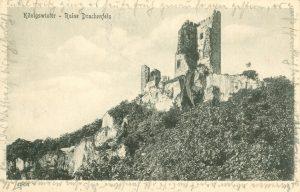 Ruine Drachenfels in Königswinter