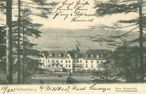 Neue Heilanstalt in Schömberg