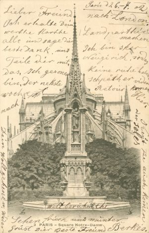 Square Notre-Dame, Paris