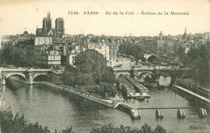 Ile de la Cité -Écluse de la Monnaie, Paris