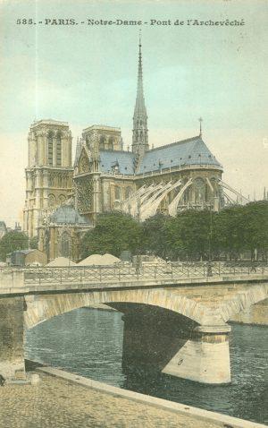 Notre-Dame – Pont de l'Archeveché, Paris