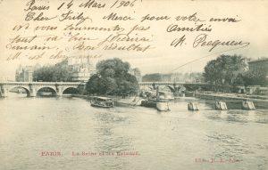 La Seine et les Ecluses, Paris