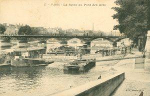 La Seine au Pont des Arts, Paris
