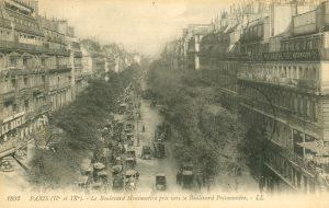 Boulevard Monmartre, Paris