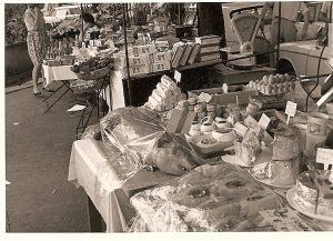 Französischer Wochenmarkt
