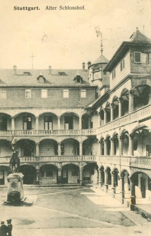 Alter Schlosshof in Stuttgart