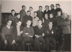 Bullenhuser Damm Klasse 9b 1962