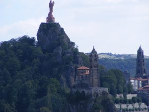 Madonna Statue in Le Puy