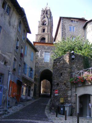 Straßenansicht in Le Puy
