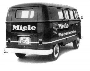 1962 Miele Kundendienst Bulli