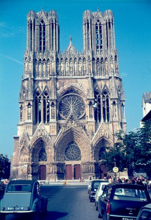 Reims, Kathedrale, 1972