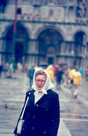 Markusplatz, Venedig, 1975
