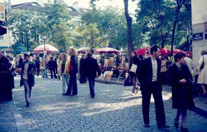 Montmartre, Paris, 1974