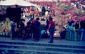 Spanische Treppe, Rom, Italien, 1973