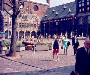 Rathaus, Lübeck, Deutschland, 1973