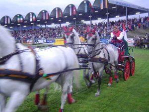 Vierspänner auf dem CHIO Aachen 2008