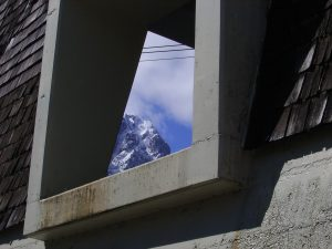 Ausblick durch Talstation