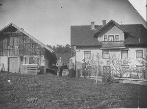 Bauernhof im Mittelgebirge