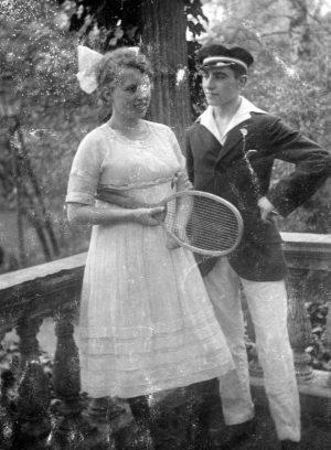 Tennis zum Zeitvertreib