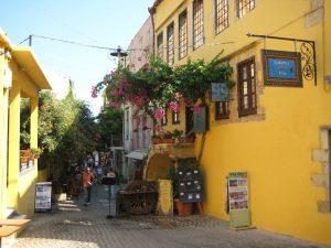 Straßenszene in Chania (Kreta)