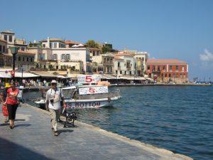 Alter Hafen in Chania (Kreta)