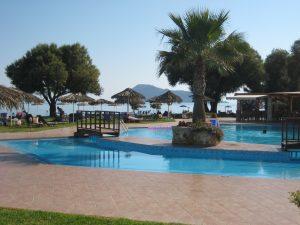 Hotelpool bei Chania (Kreta)
