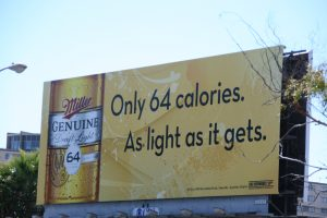 Miller Werbung