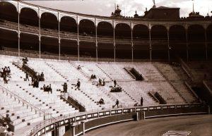 1958: Madrid Stierkampf in der Arena Las Ventas (1)