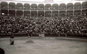 1958: Madrid Stierkampf in der Arena Las Ventas (2)