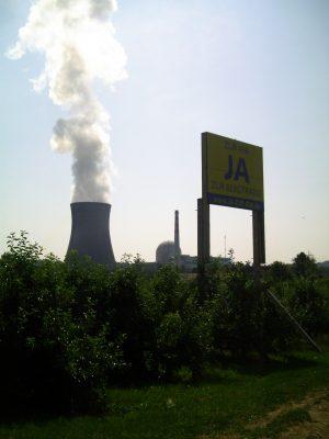 AKW Atomkraftwerk Leibstadt am Hochrhein